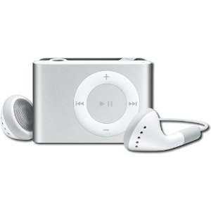 Apple iPod shuffle 2 GB Silver, Clamshell Package (2nd Generation) OLD MODEL