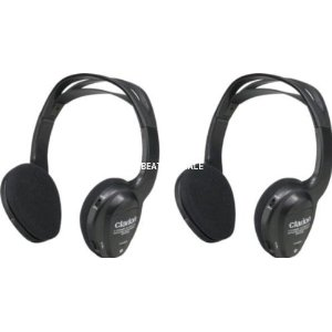 Clarion WH204 Two Channel IR Wireless Headphone System