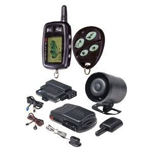 Black Widow BWZ5 2-way Vehicle Security System with Remote Start and Keyless Entry
