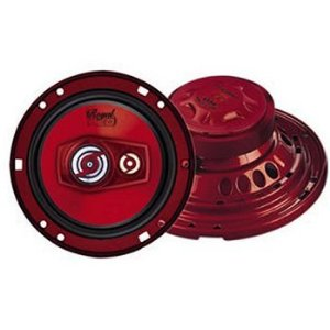 Pyramid 6594 6.5-Inch 400 Watts ThreeWay Speakers