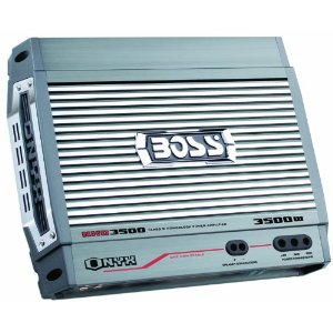 Boss NXD3500.1 3500 Watt Monoblock Class D Amplifier with Remote