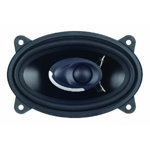 Power Acoustik XP-462K 4-Inch x 6-Inch Two-Way Full Range Speaker