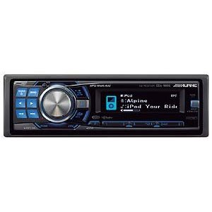Alpine CD-R/-RW/MP3/AAC/WMA Receiver, CDA-9886