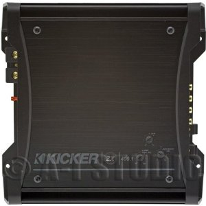 2010 KICKER ZX400.1 400W MONO D Car Amplifier Amp