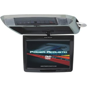 Power Acoustik PMD-112CMX 11.2-Inch Widescreen Overhead Monitor with Built-in DVD Player