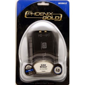 BRAND NEW PHOENIX GOLD TLD22 8 VOLT 2 CHANNEL LINE DRIVER - INCREASES PRE-AMP OUTPUT VOLTAGE OF YOUR PRE-AMPS, WHICH MAKES YOUR AMP GO WAY LOUDER, AND ELIMINATE ENGINE NOISE AND OTHER UNWANTED NOISES