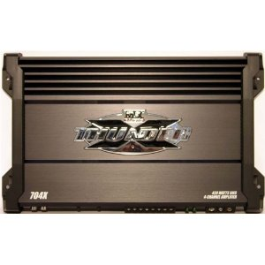 Brand New Mtx 704x 840 Watt 4 Channel Bridgeable Car Amplifier with 420 Rms True-world Rating