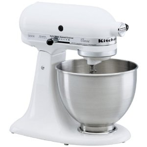 KitchenAid 4.5-qt. Ultra Power Stand Mixer - White (KSM100PSWW)
