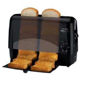 West Bend 78224 Quik-Serve Toaster, Black