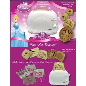 Disney Princess 2 Slice Plastic Toaster