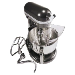 KitchenAid KP26M1XBS Professional 600, 6-Quart Bowl Lift Stand Mixers