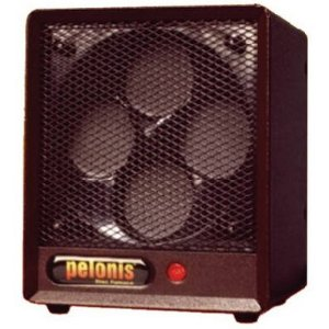 Pelonis B-6A1, Classic 4 Disc Ceramic Safety Furnace, Brown