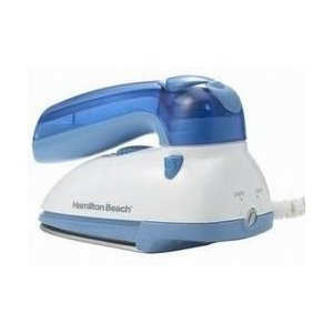 HAMILTON BEACH Travel Iron with Steamer - 10090