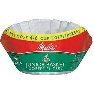 Melitta U S A Inc 62913 Junior Basket Coffee Filters