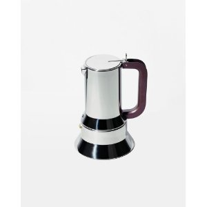 Alessi 9090/6 FM Stovetop Espresso Coffee Maker Magnetic Base 3 Cup