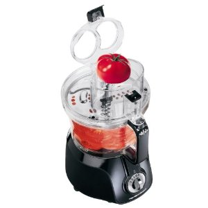 Hamilton Beach 70573H Big Mouth Food Processor, Black