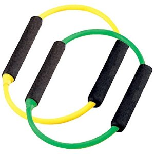 SPRI ES540R Yellow and Green Xerings (Light and Very Light Resistance)