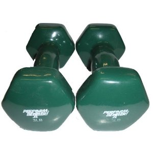 Vinyl Covered Dumbbells - Sold in Pairs