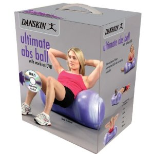 Danskin Ultimate Abs Ball with DVD