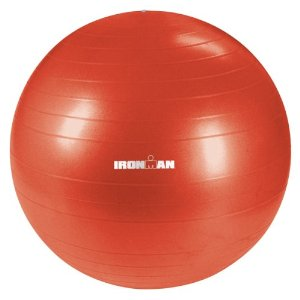 Ironman 55cm Deluxe Stability Ball (Red)