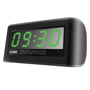 Coby cra108blk black clock radio alarm 2inch jumbo display