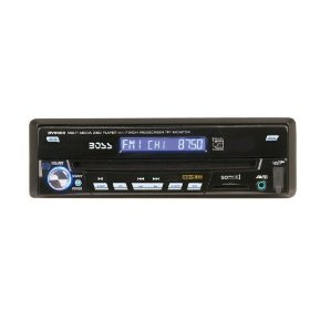 Boss Audio BV9980 In-Dash AM/FM DVD/CD/MP3 Receiver with 7-inch Flip-Out Touch Widescreen TFT Monitor