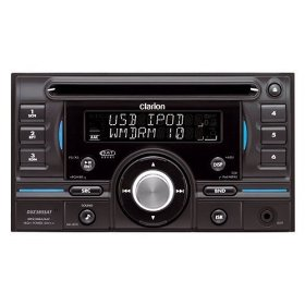 Clarion DUZ385SAT 2-DIN CD/MP3/WMA/AAC Receiver with Rear USB Port, XM Mini-Tuner Direct, Satellite Radio Ready
