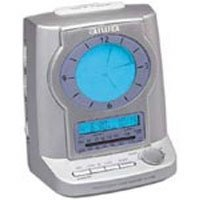 Action FRA705 AM/FM Clock Radio w/ Dual Alarm & Luminous Blue Backlit Display