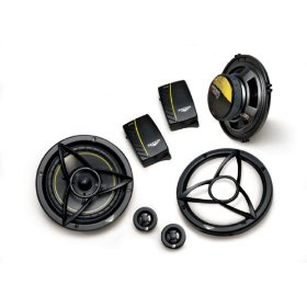 Kicker 07DS6502 DS-Series 6.5-Inch Component System with 20mm Tweeter Pair