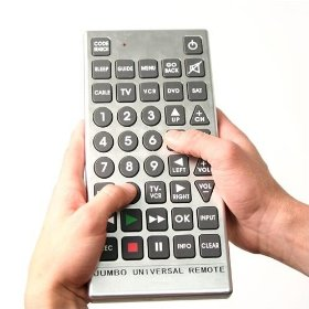 Jumbo Universal Remote -- You Cant' Lose this One!