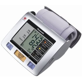 Panasonic EW3122S Upper Arm Blood Pressure Monitor (Silver)