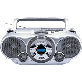 Unirex High-Powered Portable CD/VCD/MP3 Player with USB Port (RX-999USB)