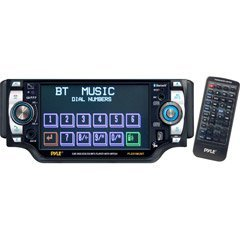 Pyle PLD51MUBT 5-inch TFT Touch Screen DVD/VCD/CD/MP3/CD-R/USB/ AM/FM/Bluetooth and Screen Dial Pad