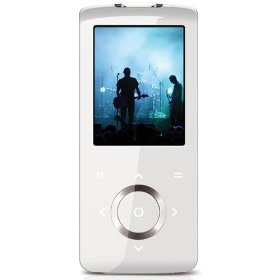 2GB Super-slim MP3 and Video Player - White