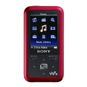 Sony 4 GB Walkman Video MP3 Player (Red)
