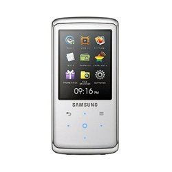 Samsung Q2 Flash Memory 8 GB Portable Media Player  (White)