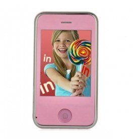 KA08 Dual Sim Touch Screen MP3 Player Cell Phone w 2.4 Inch TFT & Camera