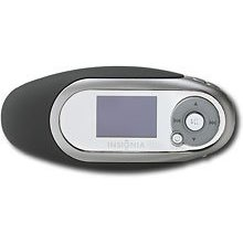 Insignia Kix NS-1A10S - Digital player / radio - flash 1 GB - WMA, MP3, protected WMA (DRM 10) - display: 1