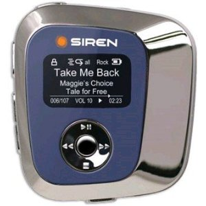 Siren SIR103 IV 4 GB MP3 Player