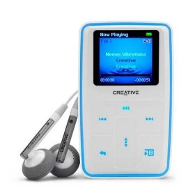 Creative Labs 70PF165000015 Zen MicroPhoto 8 GB MP3 Player (White)