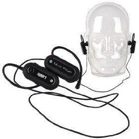 2GB USB 2.0 Folding Sport MP3 Player (Black) - Behind-the-Head Stereo Headphones w/Built-in MP3 to Work Out Tangle-Free
