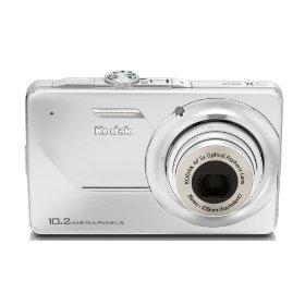 Kodak EasyShare M340 10MP Digital Camera with 3x Optical Zoom and 2.7 inch LCD (Pegasus Silver)