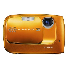 Fujifilm FinePix Z30 10MP Digital Camera with 3x Optical Zoom (Orange)