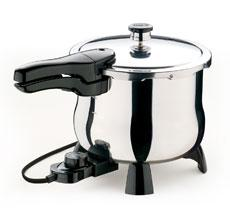 Presto o2160 steel pressure cooker electric