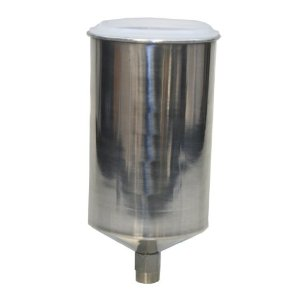 1000cc Aluminum Gravity Feed Cup, Drip Free