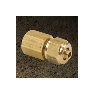 VIAIR VIAIR-92836 Compression Fitting .5 Inch Male NPT To .375 Inch For .5 Inch Air Line