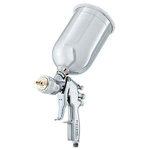DeVilbiss Auto Refinish Products FLG653G15 Finishline III HVLP Gravity Feed Spray Gun - 1.5mm