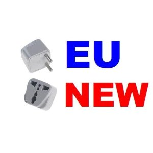 US/UK/AU To EU Travel AC Power Adapter Plug Converter