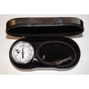 Porsche Tire Gauge with Case