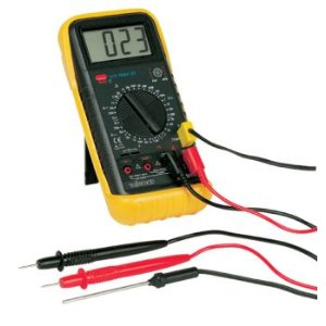 Digital Multimeter-Temperature/Capacitance/Frequency